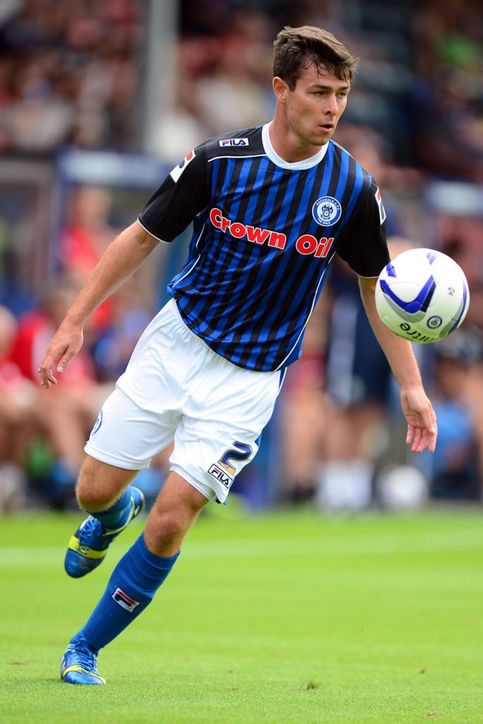 Preston have signed Rochdale full back Joe Rafferty for an undisclosed fee.