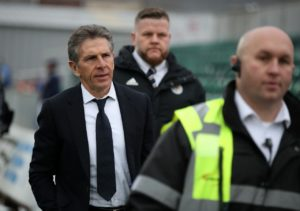 Leicester are believed to have told Claude Puel that his job is safe until the end of the season.