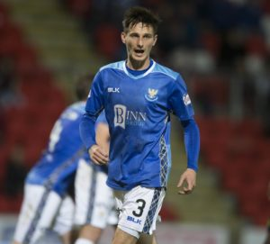 Scott Tanser told St Johnstone he would stay as long as he was wanted before signing a contract extension last week.