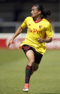Exeter have signed winger Randell Williams from Watford on a free transfer.