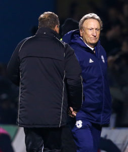 Neil Warnock has said that Cardiff's shock FA Cup exit at Gillingham could be a 'blessing' as they battle for Premier League survival.
