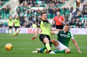 Hibernian and Scotland Under-21 defender Ryan Porteous has been ruled out for the rest of the season following knee surgery.