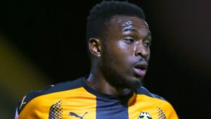 Struggling Cambridge earned a vital 2-0 win against Stevenage thanks to goals by David Amoo and Jevani Brown.