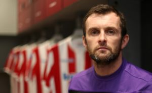 New Stoke boss Nathan Jones insisted his side are a work in progress after they were swept aside in his first game at the helm by free-flowing Brentford.