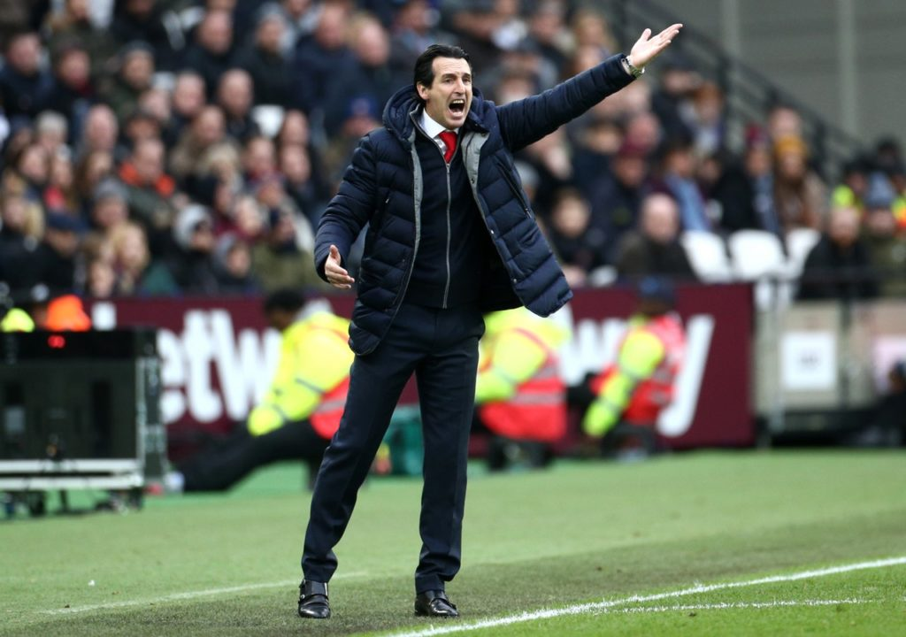 Unai Emery suggested Mesut Ozil did not deserve a place in Arsenal's squad after he sat out Saturday's defeat to West Ham.