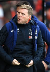 Bournemouth boss Eddie Howe is refusing to push the panic just yet despite the Cherries alarming run of form continuing at the weekend.