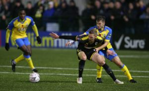 Scott Wagstaff could return to the AFC Wimbledon starting line-up for the visit of Fleetwood.