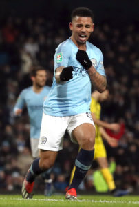 Gabriel Jesus claims easing off the throttle is simply not in Manchester City's nature.