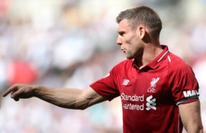 Liverpool utility man James Milner could be used once again to plug the gaps at the back for Saturday's arrival of Crystal Palace.
