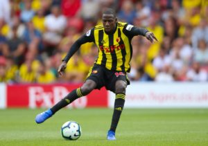 Watford will be without Abdoulaye Doucoure for Saturday's FA Cup clash with Newcastle at St James' Park.