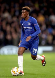 Marcos Alonso says Chelsea are as big as Bayern Munich and has urged Callum Hudson-Odoi to stay exactly where he is.