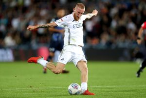 Garry Monk's return to Swansea saw his 10-man Birmingham side denied at the death as Oli McBurnie scored twice in a thrilling 3-3 draw.