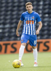 Kilmarnock forward Greg Kiltie has joined Morton on loan until the end of the season.