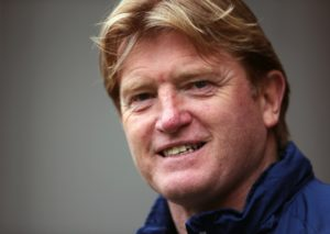 Scunthorpe boss Stuart McCall hopes his side are on the up after a third successive victory moved them out of the League One relegation zone.