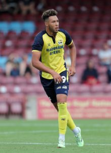 Kyle Wootton has signed a new contract with Scunthorpe, the League One club have announced.