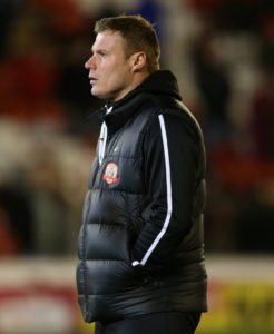 Manager David Flitcroft admitted Mansfield's superb second-half fightback to win 3-2 at Colchester was soured by Hayden White's suspected broken ankle.