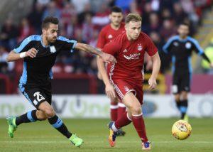 Aberdeen have scooped Kilmarnock to the loan signing of Birmingham striker Greg Stewart.