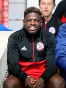 Accrington will be without the suspended Offrande Zanzala for their FA Cup tie with Ipswich.