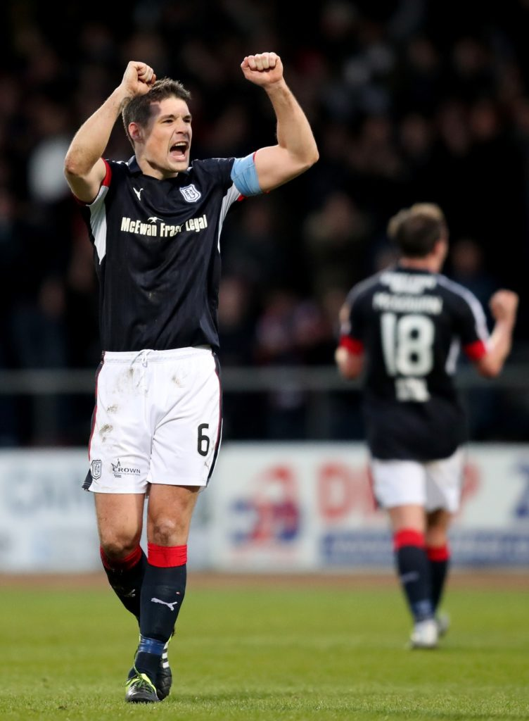 64b555942f58c Darren O Dea returns from suspension for Dundee s Ladbrokes Premiership  clash with Motherwell at Dens