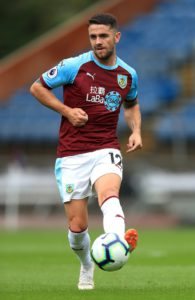 Burnley boss Sean Dyche could recall winger Robbie Brady for Wednesday's trip to the John Smith's Stadium to take on Huddersfield.