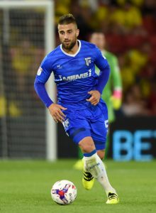 Max Ehmer is pushing to start for Gillingham at home to Walsall after the defender returned as a substitute in the victory at Burton.