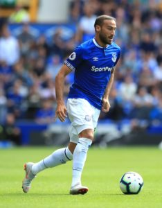 Everton striker Cenk Tosun has vowed to stay at the club this month and fight for a starting place.