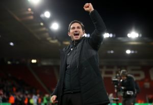 Derby manager Frank Lampard turned the spotlight on a player with a big future and one with a glittering past after his team beat Reading 2-1 at Pride Park.