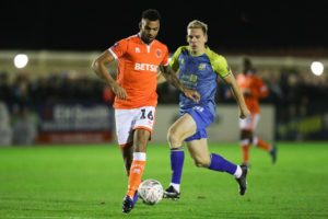 Blackpool defenders Curtis Tilt and Ollie Turton are set to return to the squad for the visit of Shrewsbury.