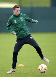 Callum McGregor is looking to continue his fine record in the William Hill Scottish Cup when Celtic host Airdrie on Saturday evening.