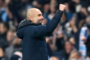 Pep Guardiola hailed the ruthlessness of his Manchester City side as they crushed Burton 9-0 in the Carabao Cup semi-final first leg.
