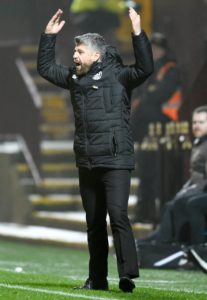 Brian Graham's double sent Motherwell crashing out of the William Hill Scottish Cup as Ross County won 2-1 at Fir Park.