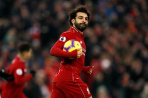 Liverpool manager Jurgen Klopp hailed Mohamed Salah as 'world-class' after he bagged a brace in the 4-3 win over Crystal Palace.