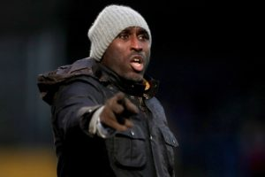 Macclesfield continued their League Two revival under Sol Campbell with a deserved 2-0 victory at Grimsby.