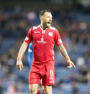 Stephen Dobbie was the hat-trick hero as Queen of the South overpowered Dundee 3-0 to earn their place in the fifth round of the Scottish Cup.