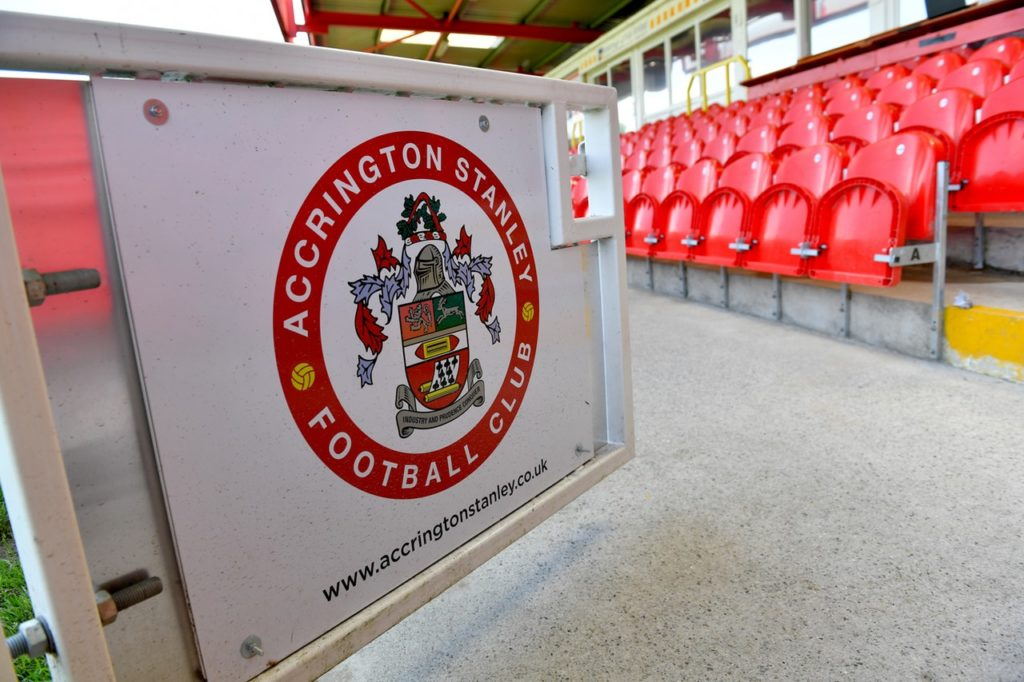 Accrington have signed Middlesbrough striker Luke Armstrong on loan until the end of the season, the League One club have announced.