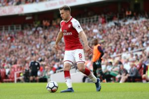 Juventus boss Max Allegri has cooled talk of a move for Arsenal midfielder Aaron Ramsey and says he is happy with his squad.