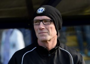 Port Vale manager Neil Aspin admitted his future would be decided on Wednesday morning after his side's 0-0 draw at Newport.