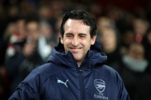 Unai Emery says Arsenal are working hard to sign new players but has again remained coy over a move for Denis Suarez.