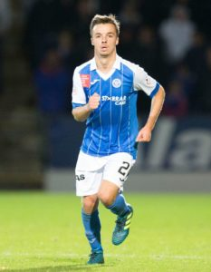 Carlisle have signed midfielder Stefan Scougall on a short-term deal until the end of the season.