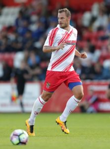 A 94th-minute header from Luke Wilkinson earned Stevenage a dramatic 2-1 victory over Morecambe in League Two.