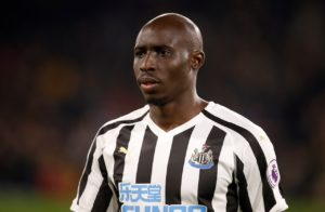 Newcastle midfielder Mohamed Diame is out of Saturday's FA Cup third-round clash with Blackburn.