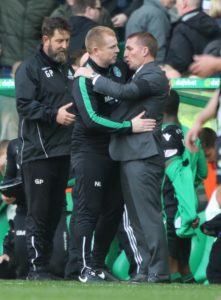 Celtic boss Brendan Rodgers insists Neil Lennon would 'walk into another job' if and when he leaves Hibernian.