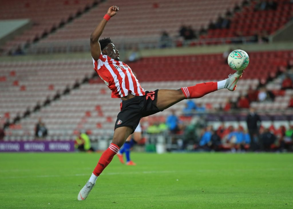 Forward Josh Maja has completed his move from Sunderland to Bordeaux, penning a four-and-a-half-year deal with the Ligue 1 side.