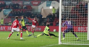 Bristol City added to Huddersfield's Premier League troubles by knocking them out of the FA Cup with a 1-0 win at Ashton Gate.
