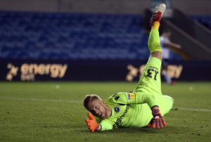 Millwall must do without back-up goalkeeper Ben Amos for the Sky Bet Championship match against Blackburn.