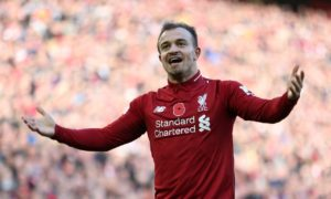 Liverpool's Xherdan Shaqiri has urged his team-mates to maintain their mentality as they take aim at the Premier League title.