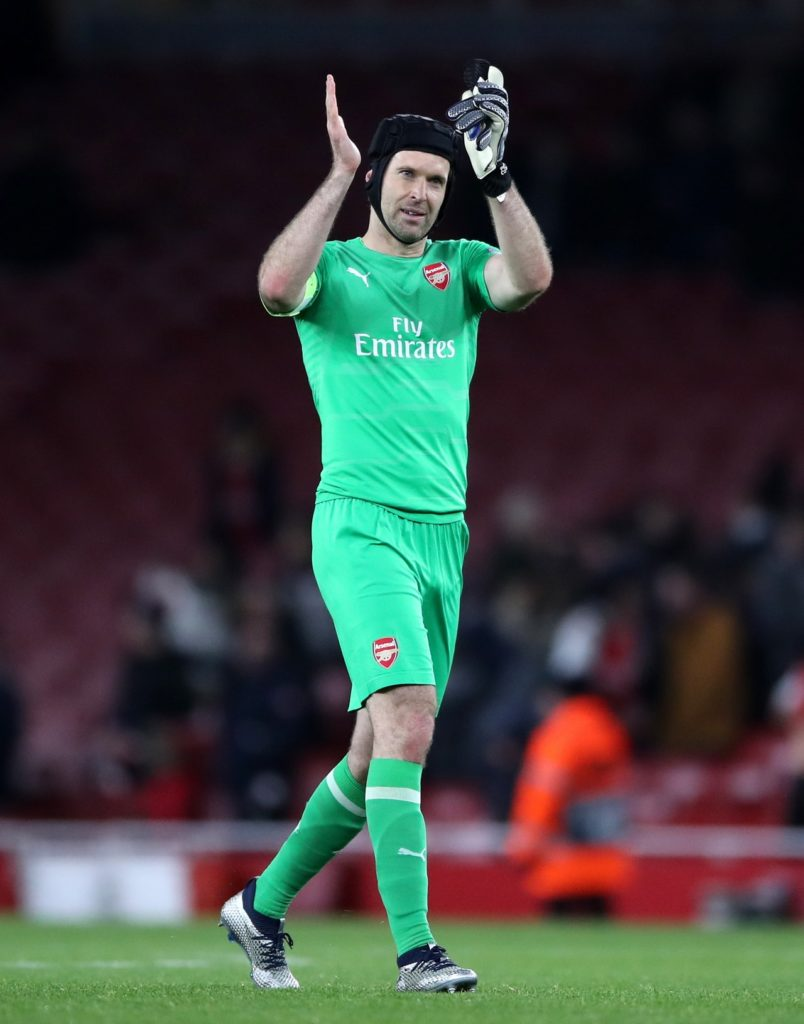 8214449d222 Arsenal goalkeeper Petr Cech has confirmed he will retire from professional  football at the end of