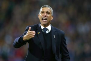 Brighton boss Chris Hughton has talked up the abilities of youngster Max Sanders as he prepares to put him in his first-team squad.