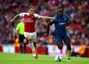 Arsenal are hoping to have Hector Bellerin and Nacho Monreal back in time for Saturday's meeting with Chelsea.