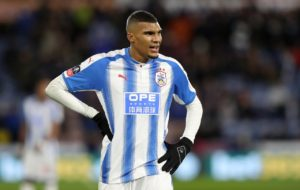 Huddersfield striker Collin Quaner has joined Championship strugglers Ipswich Town on loan for the rest of the season.